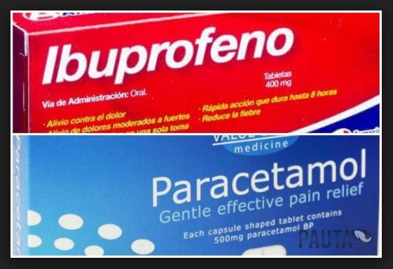 Que es bueno para el dolor de garganta Paracetamol o Ibuprofeno