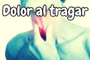 Algunos remedios para el dolor de garganta al tragar