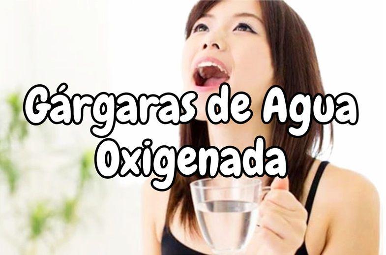 Como eliminar el dolor de garganta con agua oxigenada