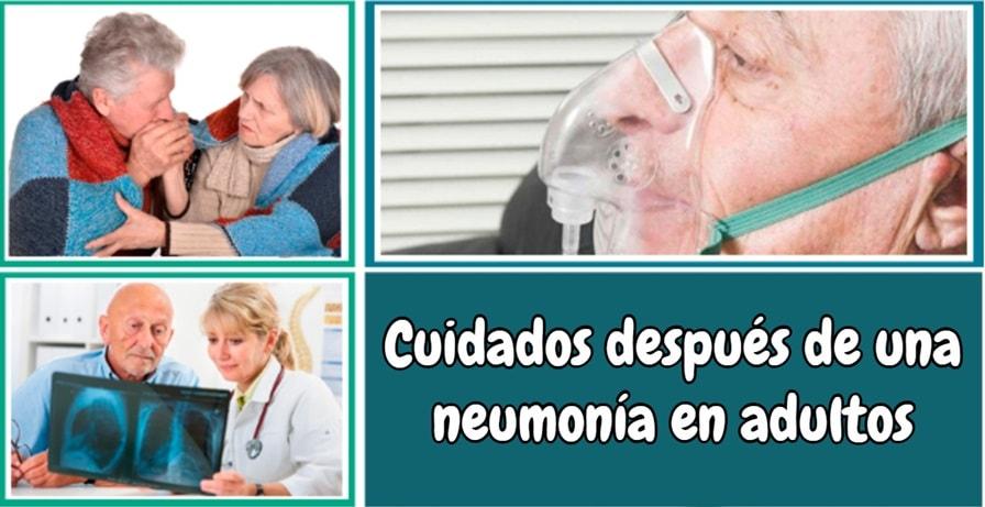 Cuidados después de una neumonía en adultos