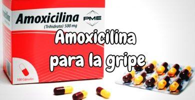 amoxicilina para la gripe