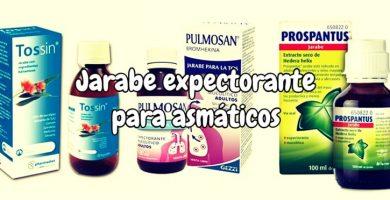 Jarabe expectorante para asmáticos